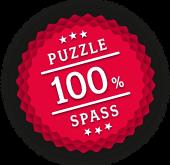 100% Puzzle Spaß